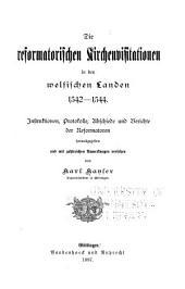 Die reformatiorischen kirchenvisitationen in den welfischen landen, 1542-1544