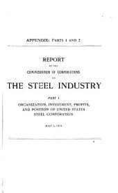 United States Steel Corporation: Hearings Before the Committee on Investigation of United States Steel Corporation, Volume 8
