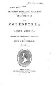 Classification of the Coleoptera of North America: Parts 1-2