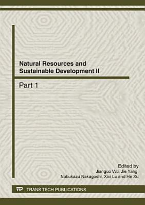 Natural Resources and Sustainable Development II PDF