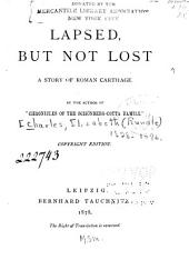Lapsed, But Not Lost: A Story of Roman Carthage