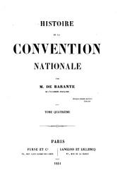 Histoire de la Convention nationale: Volume 4
