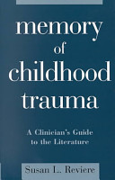Memory of Childhood Trauma PDF