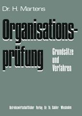 Organisationsprüfung: Grundsätze und Verfahren