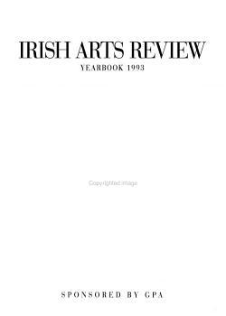 Irish Arts Review Yearbook PDF