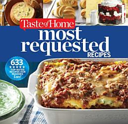 Taste Of Home Most Requested Recipes Book PDF