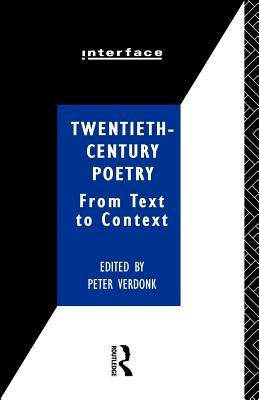 Twentieth century Poetry PDF