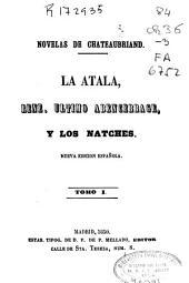 Novelas de Chateaubriand: Volumen 1