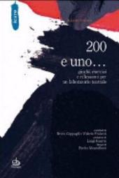 200 e uno... giochi, esercizi e riflessioni per un laboratorio teatrale