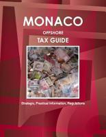 Monaco Offshore Tax Guide   Strategic  Practical Information  Regulations PDF