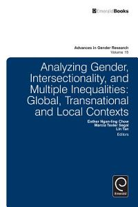 Analyzing Gender  Intersectionality  and Multiple Inequalities PDF