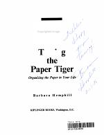 Taming the Paper Tiger PDF
