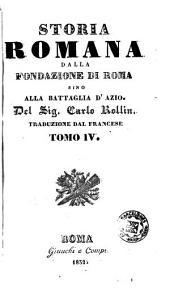 Storia romana dalla fondazione di Roma sino alla battaglia d'Azio, 4-6