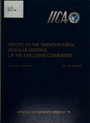 Report of the     regular meeting of the Inter American Board of Agriculture PDF