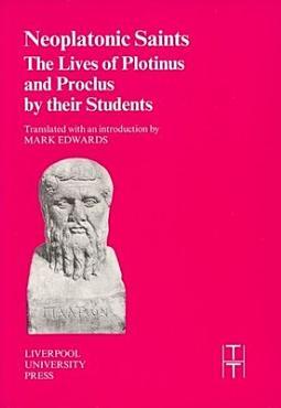 Neoplatonic Saints PDF