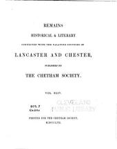 The Private Journal and Literary Remains of John Byrom: Vol. II, part II., Volume 2, Part 2