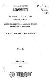 Colección de documentos inéditos del Archivo de la Corona de Aragón: documentos relativos a aquellos sucesos. Levantamiento y guerra de Cataluña en tiempo de Don Juan II. Tomos 14 al 26, Volumen 23