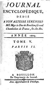 Journal encyclopédique: Volume 5,Partie 2