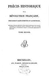 Précis historique de la révolution française: Volume2