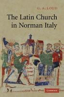The Latin Church in Norman Italy PDF