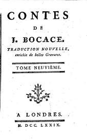 Contes de J. Bocace: Traduction nouvelle, enrichie de belles gravures, Volume9