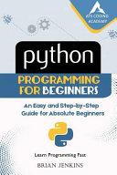 Python : Python Programming for Beginners