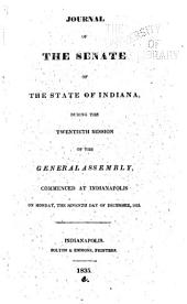Journal of the Indiana State Senate ... of the General Assembly, ...: Volume 20
