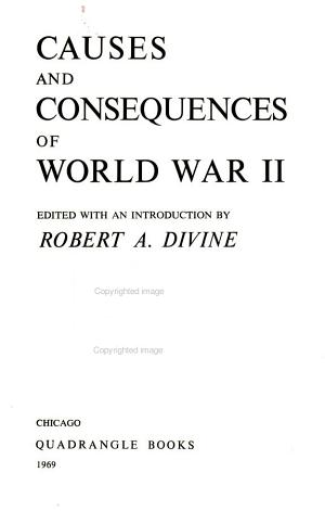 Causes and Consequences of World War II PDF