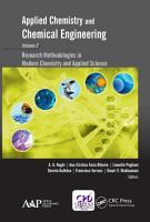 Applied Chemistry and Chemical Engineering  Volume 5 PDF