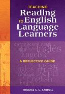 Teaching Reading to English Language Learners