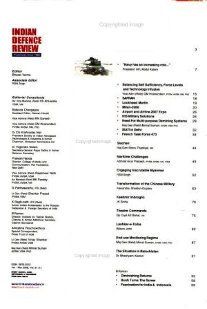 Indian Defence Review PDF