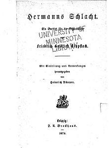Hermanns Schlacht PDF