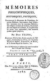 Mémoires philosophiques, historiques, physiques concernant la découverte de l'Amérique: Volume2
