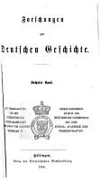 Forschungen zur deutschen Geschichte PDF