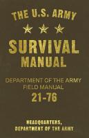 The U S  Army Survival Manual PDF