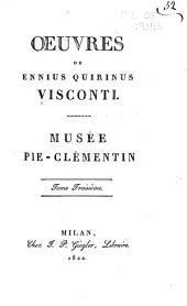 Musée Pie-Clémentin: Volume3