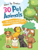 How to Draw 30 Pet Animals