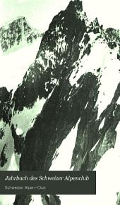 Jahrbuch des Schweizer Alpenclub: Band 25