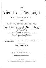Alienist and Neurologist