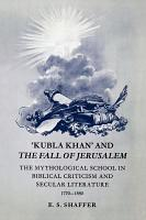 Kubla Khan  and the Fall of Jerusalem PDF
