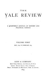 The Yale Review: Volume 1