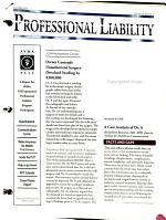 Professional Liability PDF