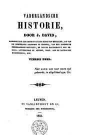 Vaderlandsche historie: Volume 4