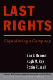Last Rights: Liquidating a Company
