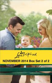 Love Inspired November 2014 - Box Set 2 of 2: Saved by the Fireman\His Small-Town Family