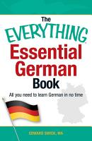 The Everything Essential German Book PDF