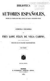 Comedias escogidas de frey Lope Félix de Vega Carpio: Volumen 24