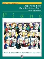 Alfred's Basic Piano Course: Repertoire Book Complete 2 & 3