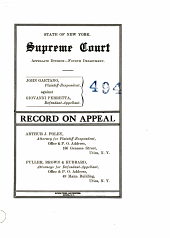 Supreme Court Appellate Divsion-Fourth Department