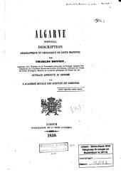 Algarve Portugal: Description géographique et geólogique de cette province